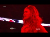 Beth Phoenix vs Eve Torres (Raw 30.01.12 Then Kane and John Cena Fight)